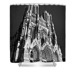 Reims Cathedral Shower Curtain