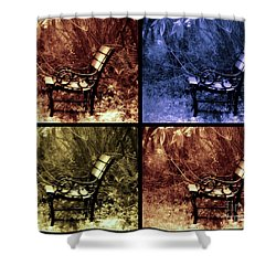 Relaxing Time Shower Curtain by Susanne Van Hulst
