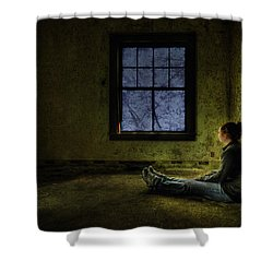 Release Me Shower Curtain by Evelina Kremsdorf