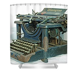 Shower Curtain featuring the photograph Remington 11 by Kay Lovingood