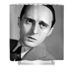 Rene Clair (1898-1981) Shower Curtain by Granger
