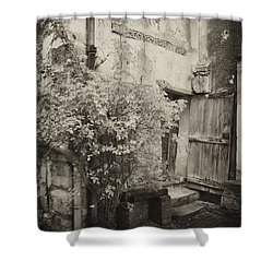 Shower Curtain featuring the photograph Renovation by Hugh Smith