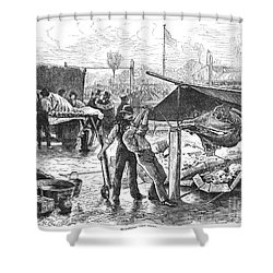 Republican Barbecue, 1876 Shower Curtain by Granger