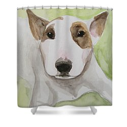 Rescue Me Nr. 4 Shower Curtain by Jindra Noewi
