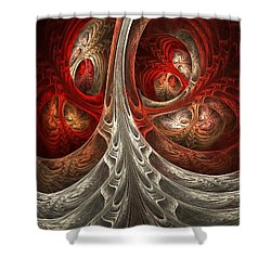 Respiratory Shower Curtain by Lourry Legarde