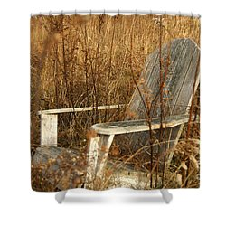 Restfull Shower Curtain by Ania M Milo
