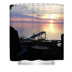 Resting Companions Shower Curtain