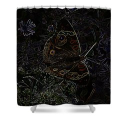 Resting Shower Curtain by Karen Harrison
