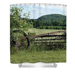 Retired Shower Curtain