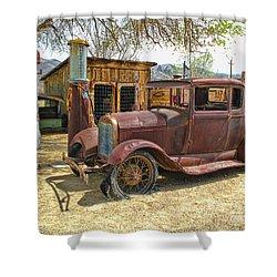 Retired Model T Shower Curtain