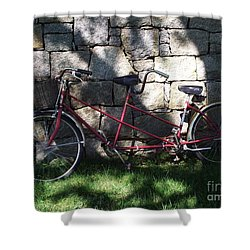 Retired  Ride Shower Curtain