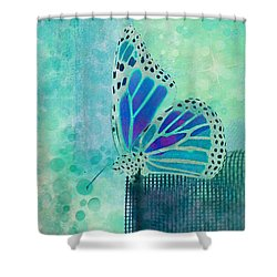 Reve De Papillon - S02b Shower Curtain