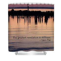 Revelation Shower Curtain by Lainie Wrightson