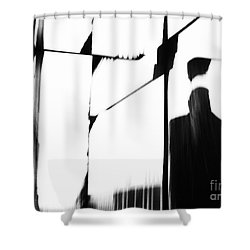 Revolving Doors Shower Curtain