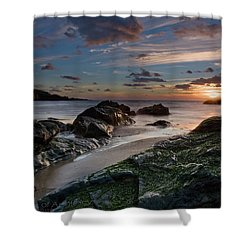 Shower Curtain featuring the photograph Rhosneigr Sunset  by Beverly Cash