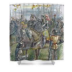Richard IIi At Bosworth Shower Curtain by Granger