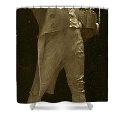 Richard Trevithick, English Inventor Shower Curtain by Science Source