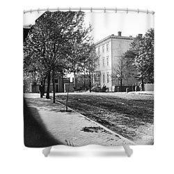 Richmond: Davis Home, 1865 Shower Curtain by Granger