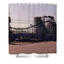 Shower Curtain featuring the photograph Ride It Cowboy by Stacy C Bottoms