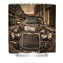Ride With Me Shower Curtain by Evelina Kremsdorf