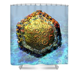 Rift Valley Fever Virus 2 Shower Curtain
