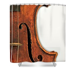 Shower Curtain featuring the photograph Right F by Endre Balogh
