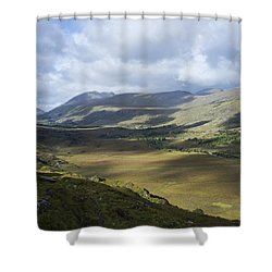 Shower Curtain featuring the photograph Ring Of Dingle by Hugh Smith