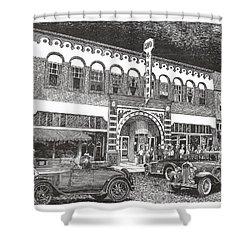 Rio Grande Theater Shower Curtain by Jack Pumphrey