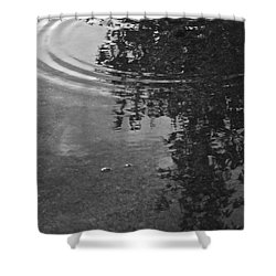 Rippled Tree Shower Curtain by Kume Bryant