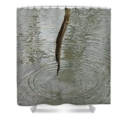Shower Curtain featuring the photograph Ripples by Tiffany Erdman