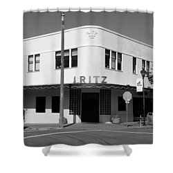 Ritz Building Eureka Ca Shower Curtain