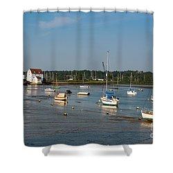 River Deben Estuary Shower Curtain