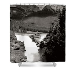 River Fall Part 1 Shower Curtain by Marcin and Dawid Witukiewicz