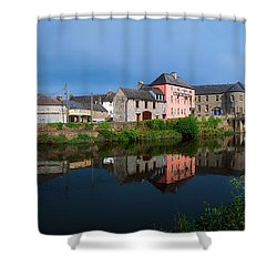 River Nore, Kilkenny, County Kilkenny Shower Curtain by The Irish Image Collection