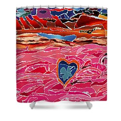River Of Passion Shower Curtain
