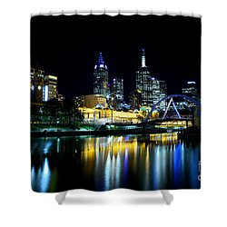 Riverside Shower Curtain by Andrew Paranavitana