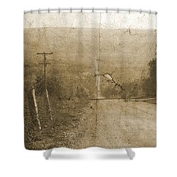 Road Not Traveled  Shower Curtain
