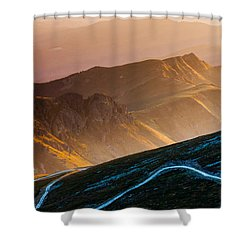Road To Middle Earth Shower Curtain by Evgeni Dinev