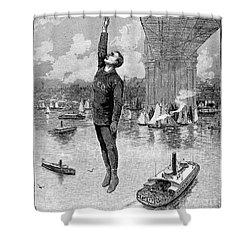 Robert E. Odlum Shower Curtain by Granger