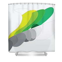 Rock And Lichen Shower Curtain