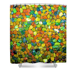Shower Curtain featuring the photograph Rock Candy by Carolyn Repka