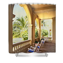 Rockers Shower Curtain by Rich Franco