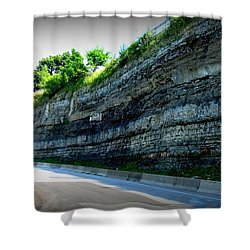 Shower Curtain featuring the photograph Rocky Jollycut by Danielle  Parent