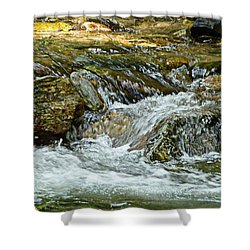 Shower Curtain featuring the photograph Rocky River by Lydia Holly