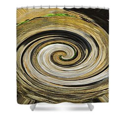Shower Curtain featuring the photograph Rocky Road by Cindy Manero
