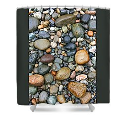 Rocky Shores Shower Curtain