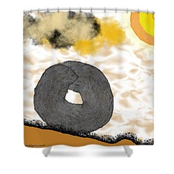 Rolling Home Shower Curtain