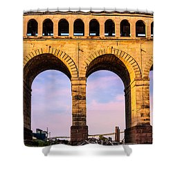 Roman Arches Shower Curtain by Semmick Photo