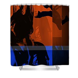 Romance Shower Curtain by Naxart Studio