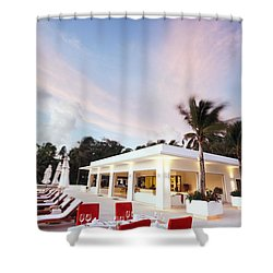 Romantic Place Shower Curtain by Setsiri Silapasuwanchai